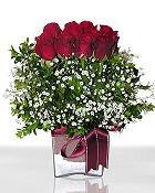 Iğdır Konaklı internetten çiçek siparişi  11 adet gül mika yada cam - anneler günü seçimi -