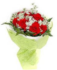 Iğdır Konaklı internetten çiçek siparişi  7 adet kirmizi gül buketi tanzimi