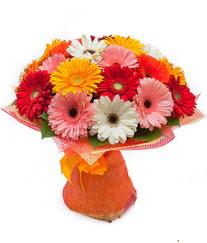 Renkli gerbera buketi  Iğdır çiçek yolla yurtiçi ve yurtdışı çiçek siparişi