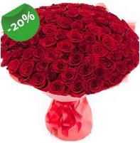 Özel mi Özel buket 101 adet kırmızı gül  Iğdır çiçek yolla yurtiçi ve yurtdışı çiçek siparişi