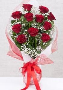 11 kırmızı gülden buket çiçeği  Iğdır çiçekçiler güvenli kaliteli hızlı çiçek