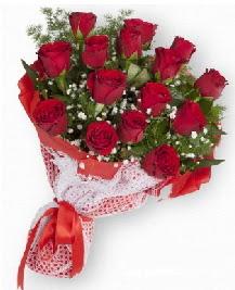 11 kırmızı gülden buket  Iğdır Hakveis çiçek gönderme