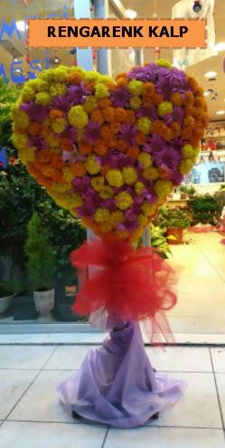 Ankara mevsim çiçeklerinden kalp perförje  Iğdır Karaağaç internetten çiçek satışı