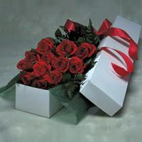 Iğdır Karakuyu çiçek online çiçek siparişi  11 adet gülden kutu