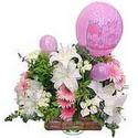 balon ve çiçeklerle tanzim  Iğdır Enginalan uluslararası çiçek gönderme