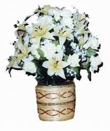 yapay karisik çiçek sepeti   Iğdır karakoyunlu çiçek gönderme sitemiz güvenlidir