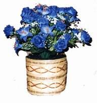 yapay mavi çiçek sepeti  Iğdır Yaycı çiçek mağazası , çiçekçi adresleri
