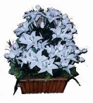 yapay karisik çiçek sepeti   Iğdır Karakuyu çiçek online çiçek siparişi