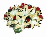 yapay karisik çiçek sepeti   Iğdır Melekli anneler günü çiçek yolla