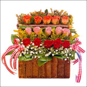 sandikta 3 kat güllerden   Iğdır Yaycı çiçek mağazası , çiçekçi adresleri