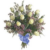 bir düzine beyaz gül buketi   Iğdır 14 kasım hediye çiçek yolla