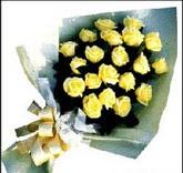 sari güllerden sade buket  Iğdır Konaklı internetten çiçek siparişi