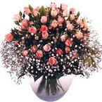 büyük cam fanusta güller   Iğdır 12 eylül çiçekçi mağazası