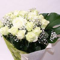Iğdır Aşağı erhacı online çiçek gönderme sipariş  11 adet sade beyaz gül buketi
