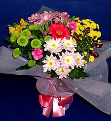 Iğdır Aşağı erhacı online çiçek gönderme sipariş  küçük karisik mevsim demeti
