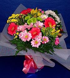 karisik sade mevsim demetligi   Iğdır çiçekçiler güvenli kaliteli hızlı çiçek