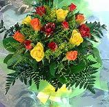 13 adet karisik gül buketi demeti   Iğdır Kasımcan kaliteli taze ve ucuz çiçekler