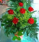 6 adet kirmizi gül buketi   Iğdır Karakuyu çiçek online çiçek siparişi