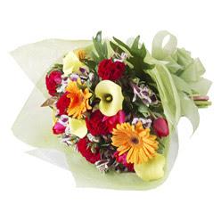 karisik mevsim buketi   Iğdır Alikamerli çiçek satışı