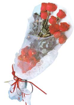 11 adet kirmizi güller buket tanzimi   Iğdır Obaköy cicekciler , cicek siparisi