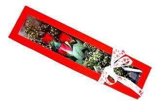Iğdır Aşağı erhacı online çiçek gönderme sipariş  Kutuda 3 adet gül