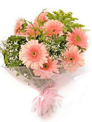Iğdır 7 kasım çiçekçiler  11 adet gerbera çiçegi buketi
