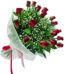 Iğdır Enginalan uluslararası çiçek gönderme  11 adet kirmizi gül buketi sade ve hos sevenler