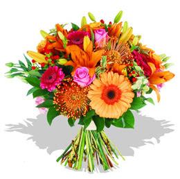 Iğdır Karaağaç internetten çiçek satışı  Karisik kir çiçeklerinden görsel demet