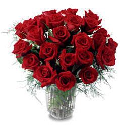 Iğdır 14 kasım hediye çiçek yolla  11 adet kirmizi gül cam yada mika vazo içerisinde