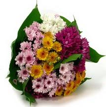 Iğdır Karaağaç internetten çiçek satışı  Karisik kir çiçekleri demeti herkeze