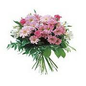 karisik kir çiçek demeti  Iğdır 7 kasım çiçekçiler