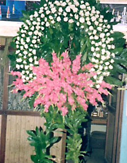 Cenaze çelenk , cenaze çiçekleri , çelengi  Iğdır Enginalan uluslararası çiçek gönderme