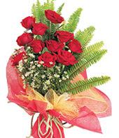 11 adet kaliteli görsel kirmizi gül  Iğdır 7 kasım çiçekçiler