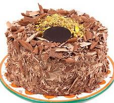 çikolatali 4 ile 6 kisilik yas pasta  Iğdır Aralık İnternetten çiçek siparişi