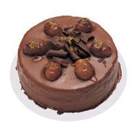 Kestaneli çikolatali yas pasta  Iğdır Konaklı internetten çiçek siparişi