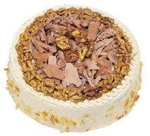 Karamelli 4 ile 6 kisilik yas pasta  Iğdır 12 eylül çiçekçi mağazası