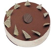 Tirasumulu yas pasta 4 ile 6 kisilik pasta  Iğdır Hoşhaber çiçek servisi , çiçekçi adresleri