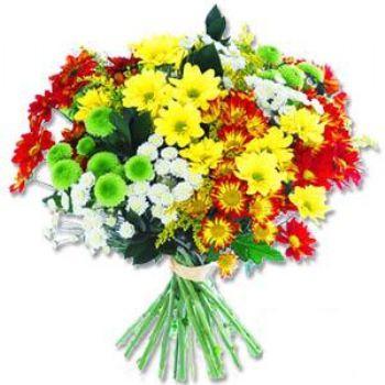 Kir çiçeklerinden buket modeli  Iğdır Karakuyu çiçek online çiçek siparişi