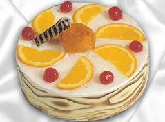 lezzetli pasta satisi 4 ile 6 kisilik yas pasta portakalli pasta  Iğdır Halfeli cicek , cicekci