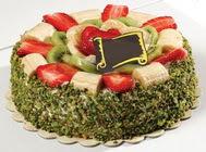 pasta gönder  4 ile 6 kisilik karisik meyvali yas pasta  Iğdır Melekli anneler günü çiçek yolla