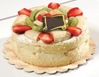 pasta siparisi 4 ile 6 kisilik karisik meyvali yas pasta  Iğdır Aralık İnternetten çiçek siparişi