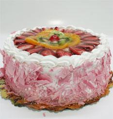 görsel pastacilar 4 ile 6 kisilik yas pasta karisik meyvali  Iğdır çiçekçiler , çiçek yolla , çiçek gönder , çiçekçi