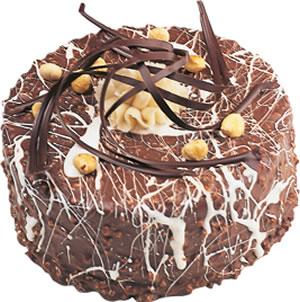 pasta satisi 4 ile 6 kisilik çikolatali yas pasta  Iğdır Bağlar ucuz çiçek gönder