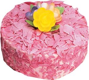 pasta siparisi 4 ile 6 kisilik framboazli yas pasta  Iğdır 12 eylül çiçekçi mağazası