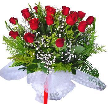11 adet gösterisli kirmizi gül buketi  Iğdır Enginalan uluslararası çiçek gönderme