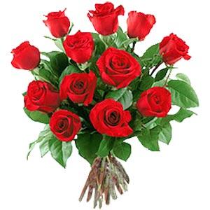 11 adet bakara kirmizi gül buketi  Iğdır Hakveis çiçek gönderme