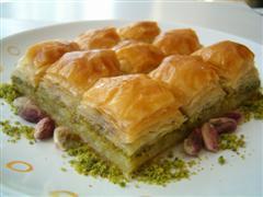 tatli siparisi essiz lezzette 1 kilo fistikli baklava  Iğdır Obaköy cicekciler , cicek siparisi