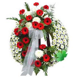 Cenaze çelengi cenaze çiçek modeli  Iğdır Kasımcan kaliteli taze ve ucuz çiçekler