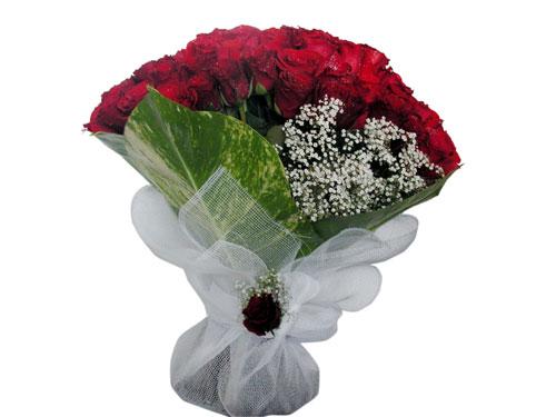 25 adet kirmizi gül görsel çiçek modeli  Iğdır Aralık İnternetten çiçek siparişi