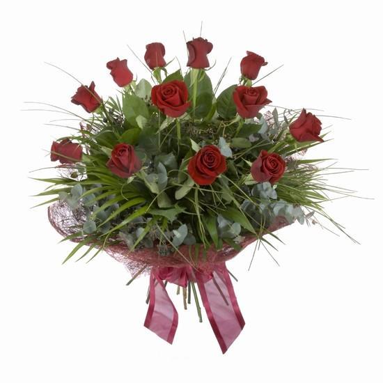 Etkileyici buket 11 adet kirmizi gül buketi  Iğdır Enginalan uluslararası çiçek gönderme